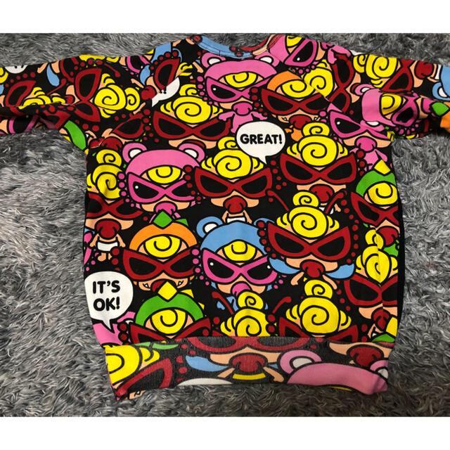 HYSTERIC MINI(ヒステリックミニ)のヒステリックミニ❤️トレーナー 90センチ キッズ/ベビー/マタニティのキッズ服女の子用(90cm~)(Tシャツ/カットソー)の商品写真