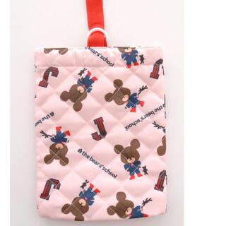 クマノガッコウ(くまのがっこう)の新品★くまのがっこう キルティング  シューズ袋(シューズバッグ)