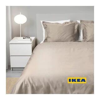 IKEA - [地域限定] IKEA PRAKTVIVA掛け布団カバー&枕カバー2枚 Wサイズ