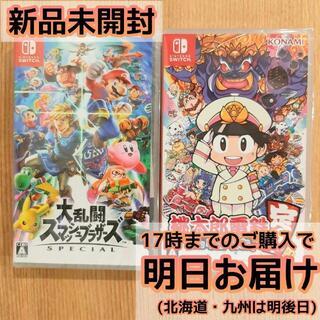 Nintendo Switch - 大乱闘スマッシュブラザーズ SPECIAL + 桃太郎電鉄