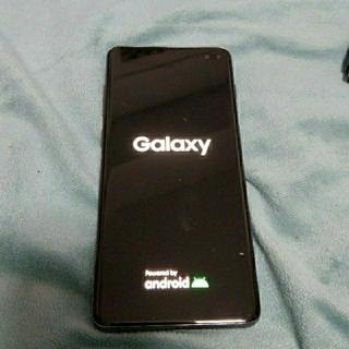 Galaxy - 赤ロム GALAXY s10plus 画面焼けあり