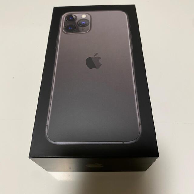Apple(アップル)のiPhone11 PRO 256GB docomo スペースグレー  スマホ/家電/カメラのスマートフォン/携帯電話(スマートフォン本体)の商品写真