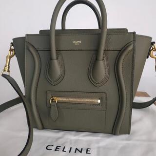 celine - セリーヌ ラゲージ ハンドバッグ ショルダーバッグ2way CELINE
