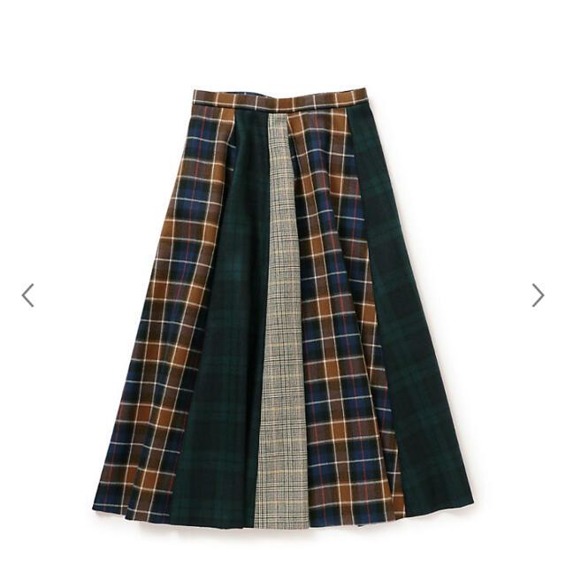 MACKINTOSH PHILOSOPHY(マッキントッシュフィロソフィー)の完売品!MACKINTOSH PHILOSOPHY / チェックフレアスカート レディースのスカート(ロングスカート)の商品写真