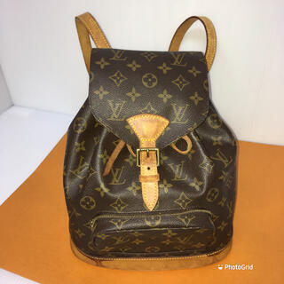 LOUIS VUITTON - Louis Vuitton ルイヴィトン モンスリリュック 正規品!