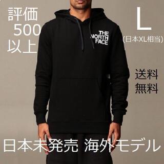 THE NORTH FACE - 日本XLサイズ 海外限定 送料無料 ノースフェイス パーカー ブラック 希少