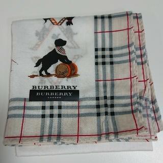 BURBERRY - 【バーバリー】  ハンカチ 【ラクマパック】