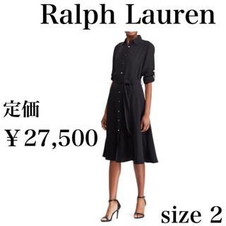 Ralph Lauren - 新品未使用 ラルフローレン シャツドレス