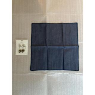 ムジルシリョウヒン(MUJI (無印良品))の新品 定価3,500円 mauve BY STELLAR ピアス 風呂敷 セット(ピアス)
