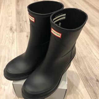 HUNTER - HUNTER ハンター 長靴 レインブーツ ショート 厚底