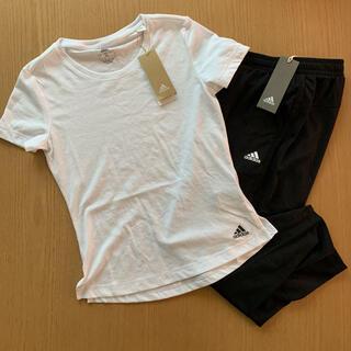 adidas - 新品未使用!アディダス adidas Tシャツ パンツ セット レディース