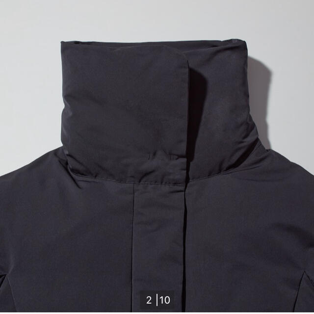 UNIQLO(ユニクロ)のユニクロのジルサンダーコラボ ハイブリッドダウン レディースのジャケット/アウター(ダウンジャケット)の商品写真