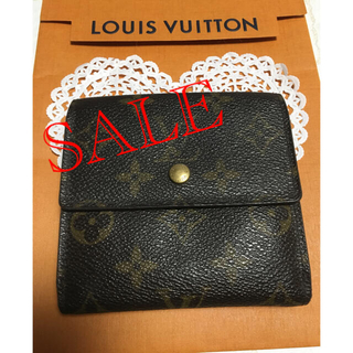 LOUIS VUITTON - ルイヴィトン モノグラム 折りたたみ財布 正規品