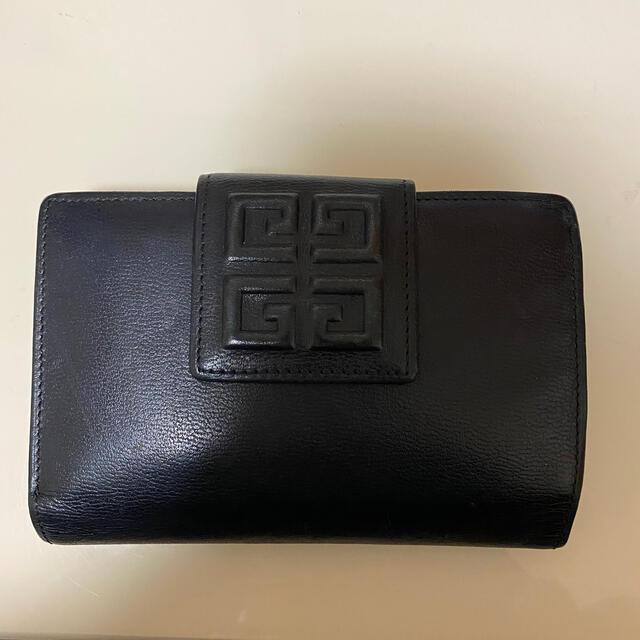 GIVENCHY(ジバンシィ)のgivenchy 財布 がま口 二つ折り ネイビー ジバンシー レディースのファッション小物(財布)の商品写真