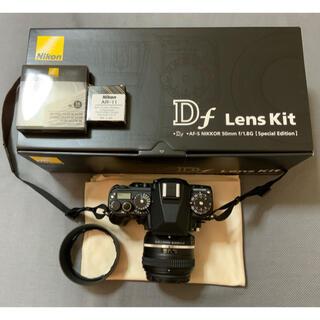 Nikon - とても美品です。Nikon Df ブラック レンズキット 、付属品付き。