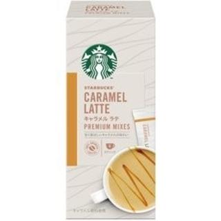 Starbucks Coffee - ネスレ日本 スターバックス プレミアム ミックス キャラメル ラテ1箱4P