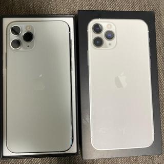 Apple - iPhone 11pro 64gb シルバー simフリー