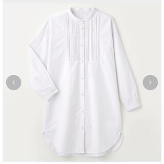 しまむら - しまむら バンドカラーシャツ M オンライン完売品
