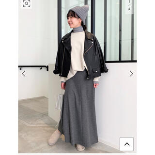 L'Appartement DEUXIEME CLASSE - 新品タグ付L'Appartement Wool Asymmetry Skirt