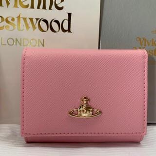 Vivienne Westwood - 未使用 Vivienne Westwood ヴィヴィアン 三つ折り財布 レザー