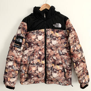 THE NORTH FACE - supreme THE NORTH FACE ヌプシ 枯葉柄