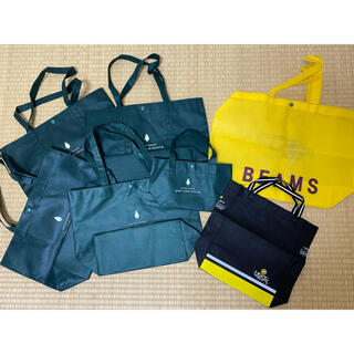 グリーンレーベルリラクシング(green label relaxing)のグリーンレーベル  ビームス ショッパー ショップ袋 トートバック(ショップ袋)