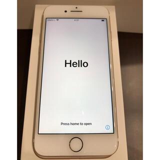 Apple - 中古)iphone7 ゴールド128GB SIMロック解除済み