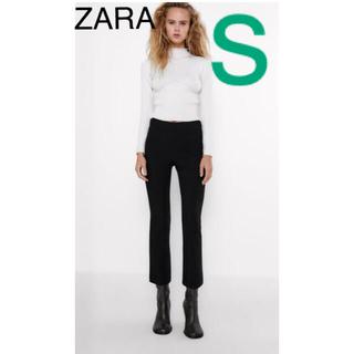 ZARA - 【ZARA】ジッパーベルボトムレギンス