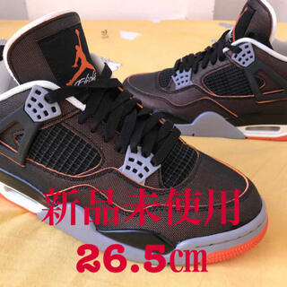 "ナイキ(NIKE)のNIKE AIR JORDAN 4 WMNS ""STARFISH""26.5㎝(スニーカー)"