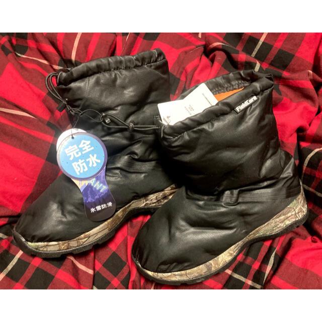 THE NORTH FACE(ザノースフェイス)のワークマン タグ付き!新品!防寒ブーツ 氷雪耐滑ケベックNEO M レディースの靴/シューズ(ブーツ)の商品写真