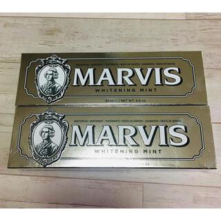 マービス(MARVIS)のマービス MARVIS ホワイトニング歯磨き粉 85g2本(歯磨き粉)