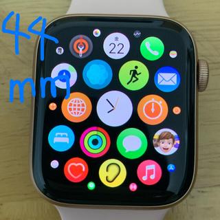 アップルウォッチ(Apple Watch)の超美品:大特価 AppleWatchSE GPS 44mm ゴールドアルミニウム(腕時計)
