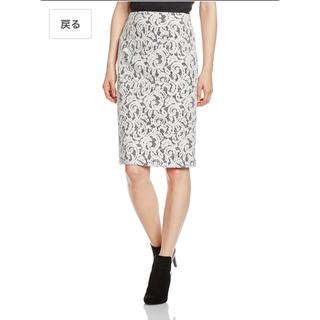 ナラカミーチェ(NARACAMICIE)のナラカミーチェ naracamicie レース生地のタイトスカート(ひざ丈スカート)