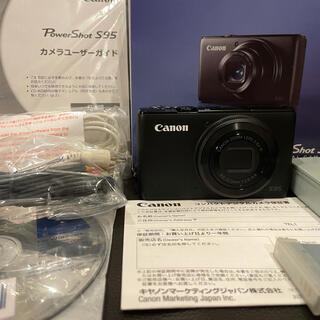 Canon - 【美品】Canon PowerShot S95 コンパクトデジタルカメラ