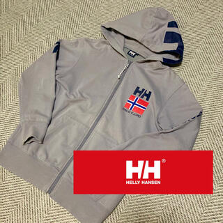 HELLY HANSEN - 希少!【HELLYHANSEN】ヘリーハンセン パーカー 国旗 グレー
