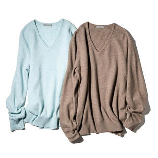 Theory luxe - theory luxe 20AW Vネック プルオーバーニット
