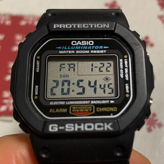 G-SHOCK - CASIO G−SHOCK DW-5600E 美品