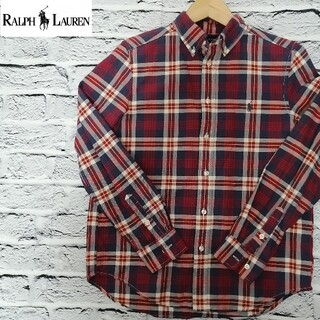 Ralph Lauren - RALPH LAUREN ラルフローレン チェック ネルシャツ 美品