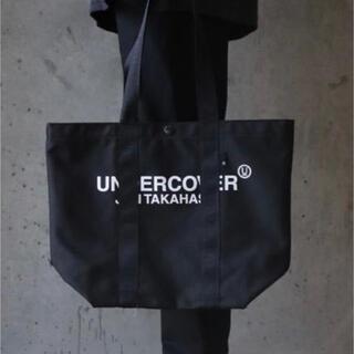 UNDERCOVER - UNDERCOVER ロゴトートバッグ 新品 BLACK アンダーカバー