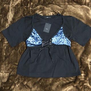 エモダ(EMODA)のEMODA エモダ フェイクビスチェTシャツ(Tシャツ(半袖/袖なし))