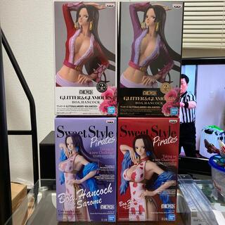 バンプレスト(BANPRESTO)のGLITTER&GLAMOURS Sweet Style ハンコック 4種セット(アニメ/ゲーム)