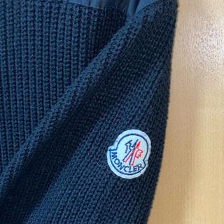 MONCLER -  MONCLER タイプ ブラック クルーネック ニット セーター size L