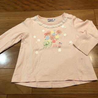 mikihouse - ミキハウス 花束うさこ 長袖Tシャツ 90