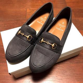 ロペピクニック(Rope' Picnic)の【ROPE' PICNIC PASSAGE byHARUTA】フラットローファー(ローファー/革靴)