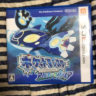 ポケモン(ポケモン)のポケットモンスター アルファサファイア 3DS(携帯用ゲームソフト)