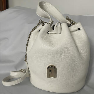 Furla - 新品 FURLA SLEEK フルラ バケツ型 チェーンショルダーバッグ
