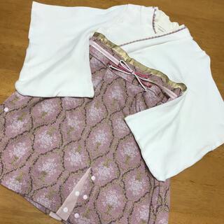 美品 スウィートマミー 袴ロンパース(和服/着物)
