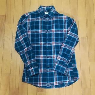 UNIQLO - UNIQLO チェックシャツ Sサイズ