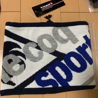 le coq sportif - [ルコックスポルティフゴルフ] ネックウォーマー メンズ QGBMJK50