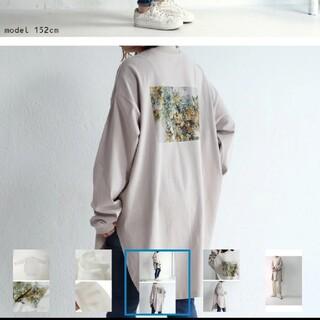 アンティカ(antiqua)のアンティカ バックプリントロンT(Tシャツ(長袖/七分))